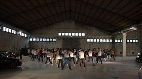 宜蘭14校聯合舞展籌備照片(圖/李曼萍授權提供)