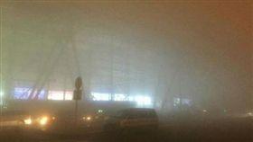 山東濟南機場大霧/微博