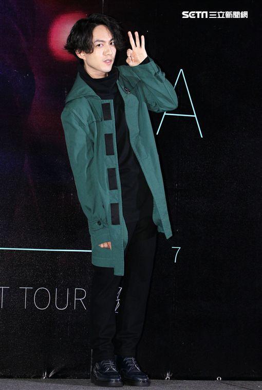 林宥嘉The Great Yoga世界巡迴演唱會,台北場四月登場。。(記者邱榮吉/攝影)