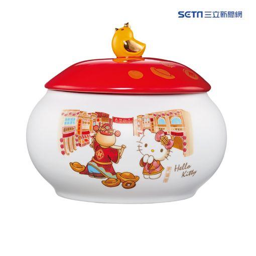 老協珍Hello Kitty,熊大佛跳牆,年菜,過年。(圖/老協珍提供)