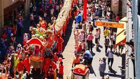 墨爾本農曆新年。(圖/Flickr: Chris Phutully,https://www.flickr.com/photos/72562013@N06/12262325753/in/photostream/)