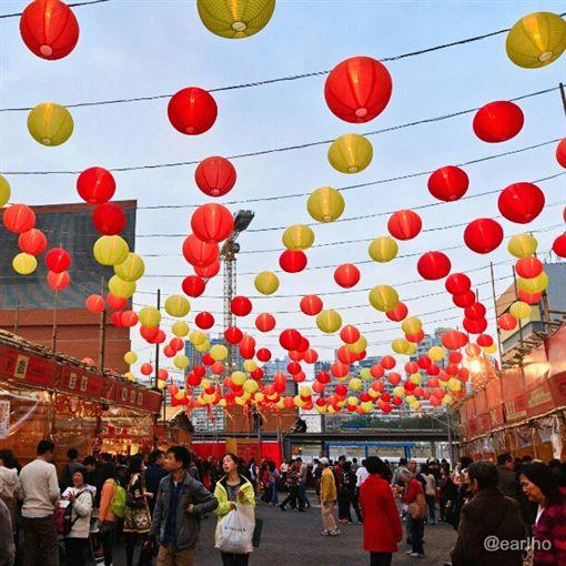 香港農曆新年。(圖/翻攝自香港逗陣行FB)