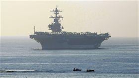 「老布希號」(USS George H.W. Bush)航空母艦_美聯社