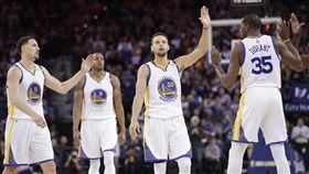 勇士,Stephen Curry,Kevin Durant,Klay Thompson(ap)