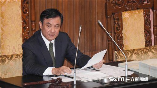 立法院長蘇嘉全9日主持院會。 圖/記者林敬旻攝