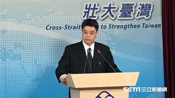 邱垂正,陸委會,發言人/陳彥宇攝