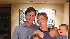 川普女兒伊凡卡(Ivanka Trump)與丈夫庫許納(Jared Kushner)。(圖/翻攝自伊凡卡Instagram)