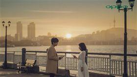 林明禎 李敏鎬 合拍廣告 圖/種子音樂提供