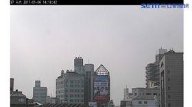 環保署今(6)日下午兩點監測斗六空氣品質指標達紅害等級,對所有族群不健康。(圖/截取自環保署官網)