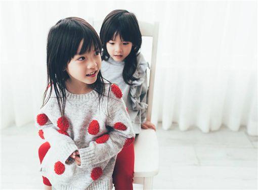 ZARA,代言人,蘋果西打,童星,代言,雙胞胎,時尚,台灣之光/臉書