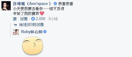 許瑋甯、林心如/臉書