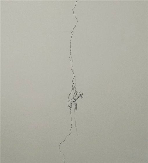 牆上的裂縫,圖/爆料公社
