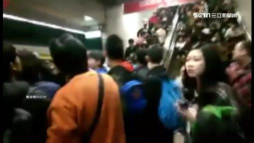 手扶梯突停擺害摔傷 民怨台鐵不負責