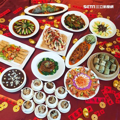 年菜,圍爐,過年。(圖/雄獅旅遊提供)