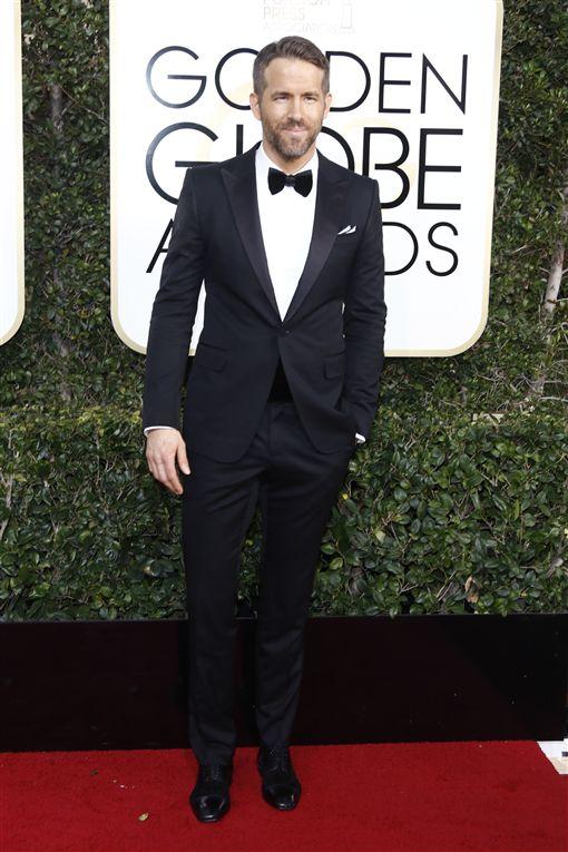 金球獎,萊恩雷諾斯(Ryan Reynolds) 圖/達志影像