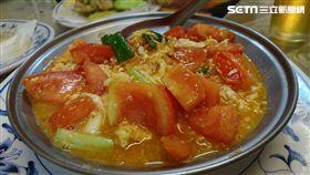 熱炒,蕃茄炒蛋(記者翁堃泰攝影)