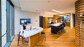 軟體公司諾傑(Nogle)、科技矽谷、開放辦公室(圖/翻攝自諾傑官網)