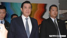 前總統馬英九第二次出庭 圖/記者林敬旻攝
