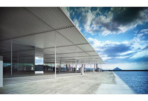 瀨戶內國際藝術祭:妹島和世海之驛站「直島」。(圖/翻攝自瀨戶內藝術祭官網)