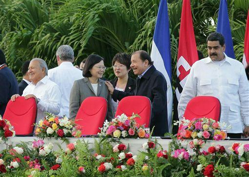 蔡英文出席尼加拉瓜總統奧德嘉(José Daniel Ortega Saavedra)就職典禮 圖/總統府提供