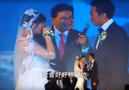 鄧超對孫儷深情告白。(圖/翻攝自viola59420 YouTube)