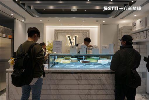 紐約神級千層蛋糕Lady M,台灣首店晶華酒店登場。(圖/記者簡佑庭攝)
