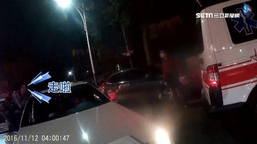 囂張! 10多人圍打2男 嗆救護車擋路