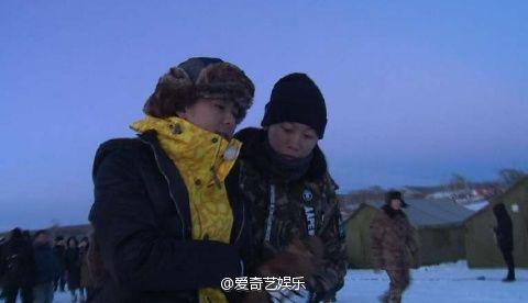 林志穎,我們十七歲,滑倒(圖/翻攝自愛奇藝娛樂微博)