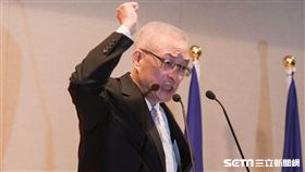 前副總統吳敦義宣布參選國民黨黨主席記者會 圖/記者林敬旻攝