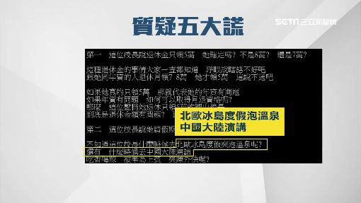 徐慧芯請假300天 考績吃丙「月退5.7萬」