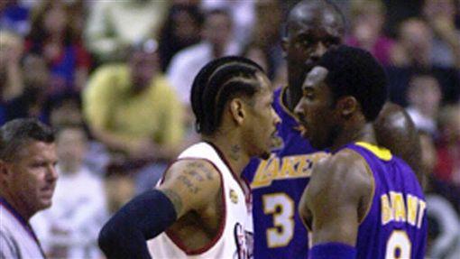 Iverson與「歐布連線」曾在2001年總冠軍賽對決(ap)