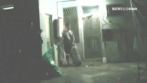拒捕抱瓦斯桶 警對峙3小時親情攻勢