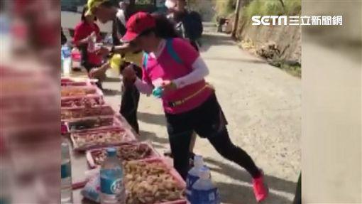 鎮西堡超級馬拉松女跑者作弊