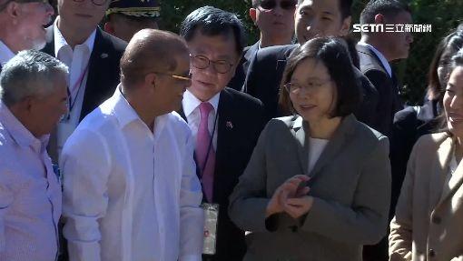 拚外交兼血拚! 蔡總統訪薩國咖啡合作社