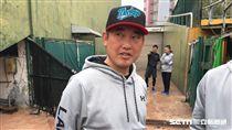 Lamigo桃猿二軍投教杉山賢人(圖/陳怡汝攝)