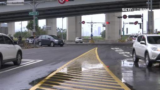 1路口9車道 方向交錯駕駛常錯亂
