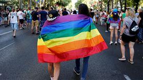 彩虹旗,同志,性別,遊行,同性戀者 圖/路透社/達志影像