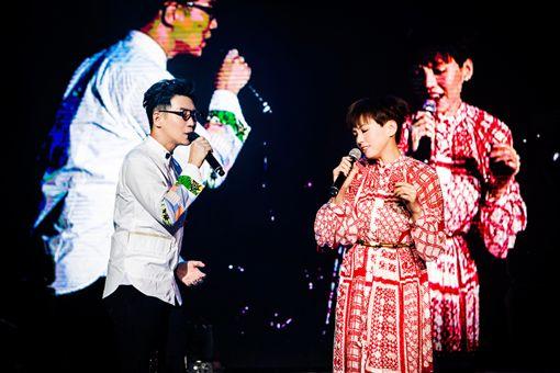 品冠上海開唱 陳潔儀、吳克群現身助陣合唱歌迷嗨翻天 圖/種子音樂提供
