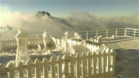 玉山下雪 氣象局