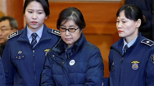 Choi Soon-sil,崔順實,三星,合併案,朴槿惠圖/路透社/達志影像