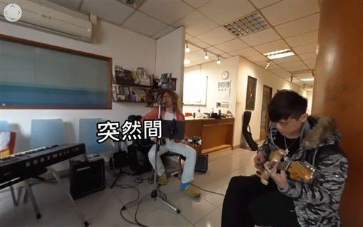 朱頭皮發新輯《人生半百古來嘻》 新MV祭出360新科技 圖/翻攝自朱頭皮臉書、YouTube
