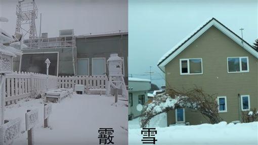 玉山,合歡山,下雪,初雪,知識,霰,冰晶(YouTube https://www.youtube.com/watch?v=nX9wfpg6Ak4)