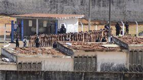巴西北大河監獄喋血暴動 至少26死 圖/美聯社/達志影像