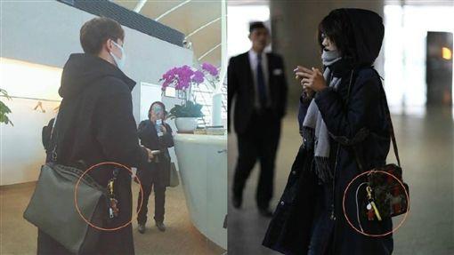 圖翻攝自微博 鄭爽 馬天宇