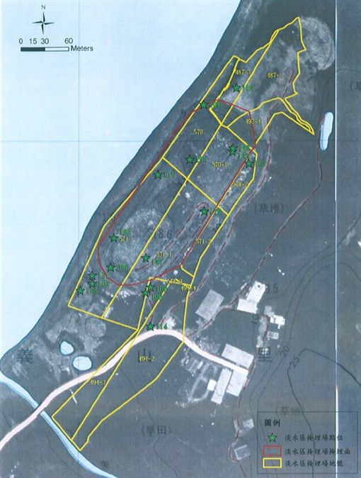 淡水垃圾掩埋場 圖/營建署提供