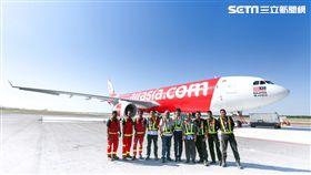 亞洲航空,AirAsia。(圖/亞航提供)