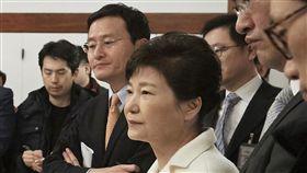 朴槿惠,青瓦台,彈劾,媒體,閨密 圖/美聯社/達志影像