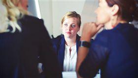職場,開會,會議,談判,商談,商業,上班族,OL(圖/PEXELS)