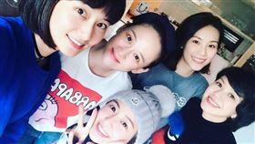 七朵花,陳喬恩,賴薇如 圖/翻攝自賴薇如臉書