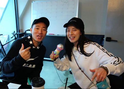 Gary和宋智孝是出名的「周一情侶」。(圖/翻攝自Running Man IG)